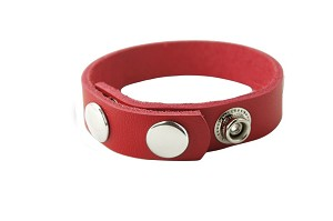 C-Ring Red Leather    6Ar