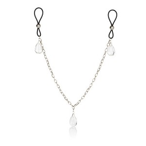 Nipple Play® Non-Piercing Nipple Chain Jewelry - Crystal