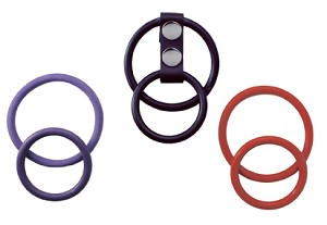 INTERCHANGEABLE DUAL CR with COLORED RINGS