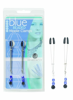 Clamps, Adj W/Blue Beads