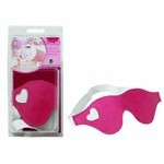 Blindfold Heart Pink Wht