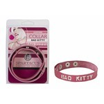 Collar Sm Bad Kitty Pink