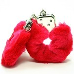 Love Cuffs  Red Plush
