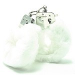 Love Cuffs  White Plush