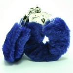 Love Cuffs  Blue Plush