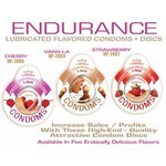 Endurance Condom Strawberry 3 Pack