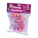 Candy Condoms - Edible Gummy Condoms. 4pk with Header Card