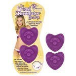 The Breast Stimulator Hearts-Purple