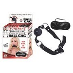 Dominant Submissive Collection Ball Gag - Black