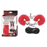 Dominant Submissive Collection Love Cuffs - Red