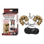 Dominant Submissive Collection Love Cuffs - Leopard
