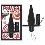 Power Buttplug Remote Control - Black