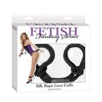 Fetish Fantasy Series  Silk Rope Love Cuffs