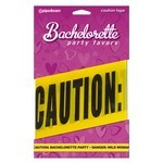 Bachelorette Party Favors  Caution Tape