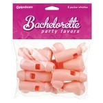 Bachelorette Party Favors  Pecker Whistles - 8pc.