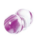 Duotone Orgasm Balls - Purple/White