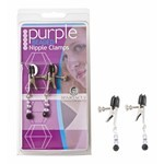 Clamps, Adj W/Purple Bead