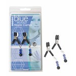 Clamps, Blue Beads