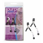 Clamps, Violet Beads