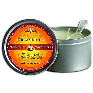 Massage Oil 3 in 1 Suntouched Candle Round Dreamsicle