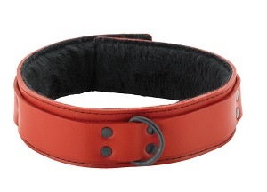 Collar Unlined Red